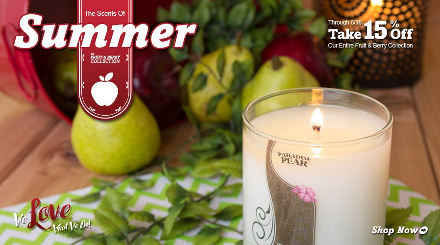 Save 15% on the Scents of Summer!