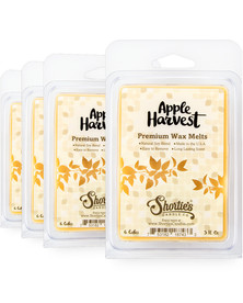 Apple Harvest Wax Melts 4 Pack - New Wax Blend