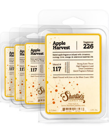 Apple Harvest Wax Melts 4 Pack - Formula 117