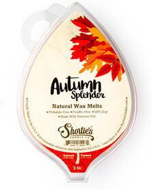 All Natural Autumn Splendor Wax Melts 3 Oz. Pack
