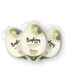 All Natural Bayberry Fir Soy Wax Melts 3 Pack