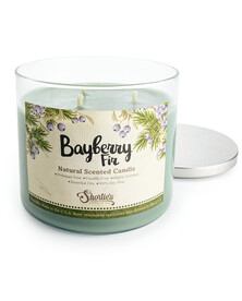 All Natural Bayberry Fir 3 Wick Candle