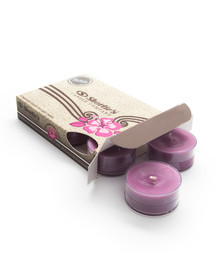 Black Cherry Tealight Candles 6-Pack