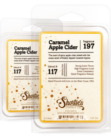 Caramel Apple Cider Wax Melts 2 Pack - Formula 117