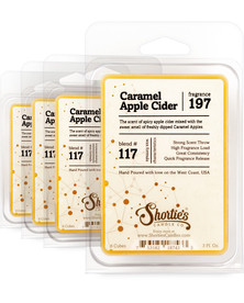 Caramel Apple Cider Wax Melts 4 Pack - Formula 117