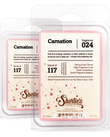 Carnation Wax Melts 2 Pack- Formula 117