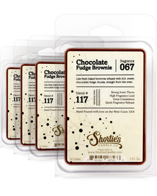 Chocolate Fudge Brownie™ Wax Melts 4 Pack - Formula 117