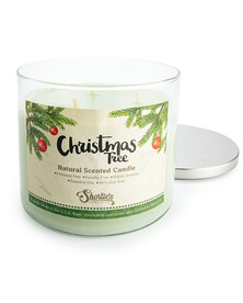 All Natural Christmas Tree 3 Wick Candle