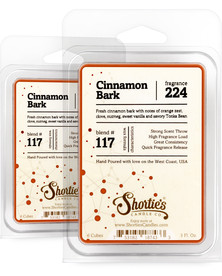 Cinnamon Bark Wax Melts 2 Pack - Formula 117