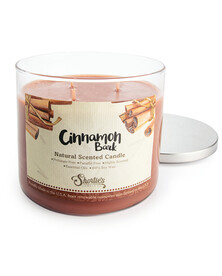 All Natural Cinnamon Bark 3 Wick Candle