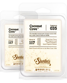 Coconut Cove™ Wax Melts 2 Pack - Formula 117