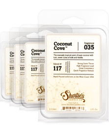 Coconut Cove™ Wax Melts 4 Pack - Formula 117