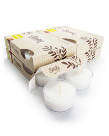Coconut Lime Verbena Tealight Candles 24-Pack