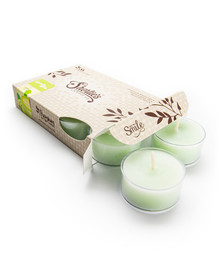 Cucumber Melon Tealight Candles 6-Pack