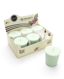 Cucumber Melon Soy Votive Candles 6-Pack