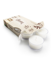 Cuddly Cotton™ Tealight Candles 6-Pack
