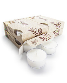 Cuddly Cotton™ Tealight Candles 24-Pack