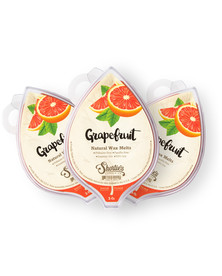 All Natural Grapefruit Soy Wax Melts 3 Pack