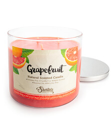 All Natural Grapefruit 3 Wick Candle
