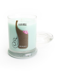 Iced Mint Lavender Jar Candle - 6.5 Oz.