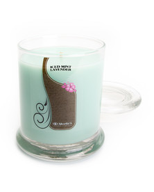 Iced Mint Lavender Jar Candle - 10 Oz.
