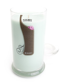 Iced Mint Lavender Jar Candle - 16.5 Oz.