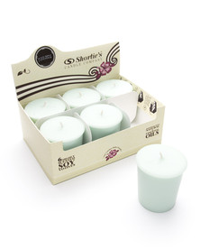 Iced Mint Lavender Soy Votive Candles 6-Pack
