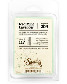 Iced Mint Lavender Wax Melts  - Formula 117