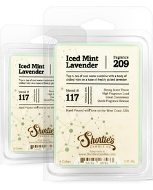 Iced Mint Lavender Wax Melts 2 Pack - Formula 117