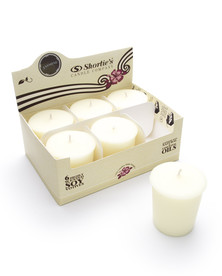Jasmine Soy Votive Candles 6-Pack