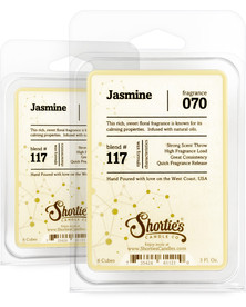 Jasmine Wax Melts 2 Pack - Formula 117