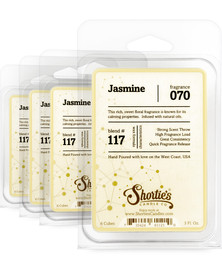 Jasmine Wax Melts 4 Pack - Formula 117