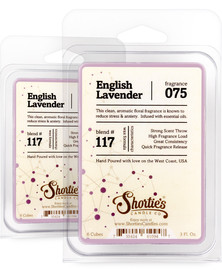 English Lavender Wax Melts 2 Pack - Formula 117