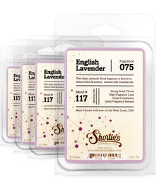 English Lavender Wax Melts 4 Pack - Formula 117