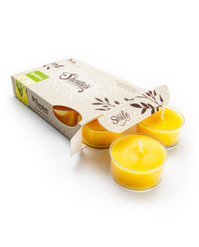 Lemongrass Tealight Candles 6-Pack