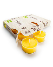 Lemongrass Tealight Candles 12-Pack