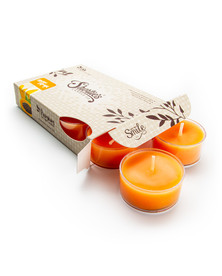 Mango & Papaya Tealight Candles 6-Pack