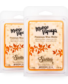 Mango & Papaya Wax Melts 2 Pack - New Wax Blend