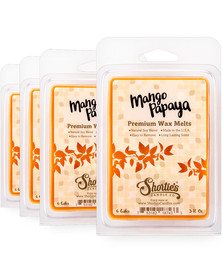 Mango & Papaya Wax Melts 4 Pack - New Wax Blend