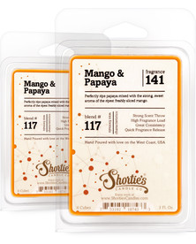 Mango & Papaya Wax Melts 2 Pack - Formula 117