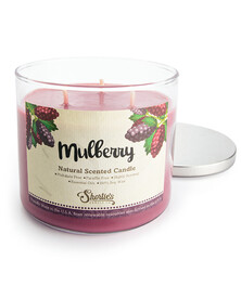 All Natural Mulberry 3 Wick Candle