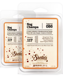 Nag Champa Wax Melts 2 Pack - Formula 117