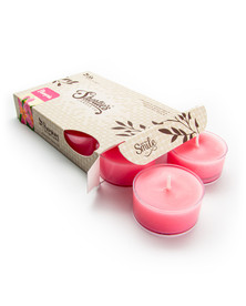 Plumeria Tealight Candles 6-Pack