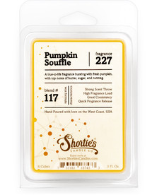 Pumpkin Souffle Wax Melts  - Formula 117