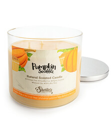 All Natural Pumpkin Souffle 3 Wick Candle