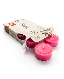 Rose Petals Tealight Candles 6-Pack