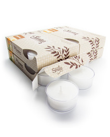 Sandalwood Tealight Candles 24-Pack