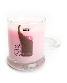 Sandalwood Rose Jar Candle - 10 Oz.