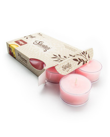 Sandalwood Rose Tealight Candles 6-Pack
