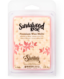 Sandalwood Rose Wax Melts  - New Wax Blend